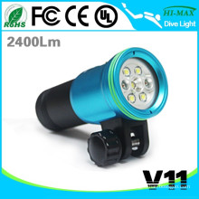 HI-MAX V11 Best Military Diving Equipment Diving LED Flashlight